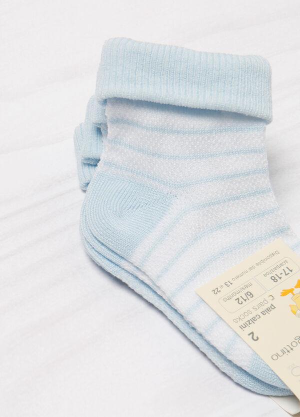 Two-pack short cotton socks   OVS