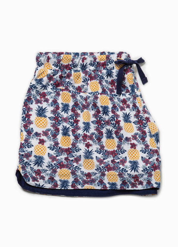 Shorts pigiama stampa all-over | OVS