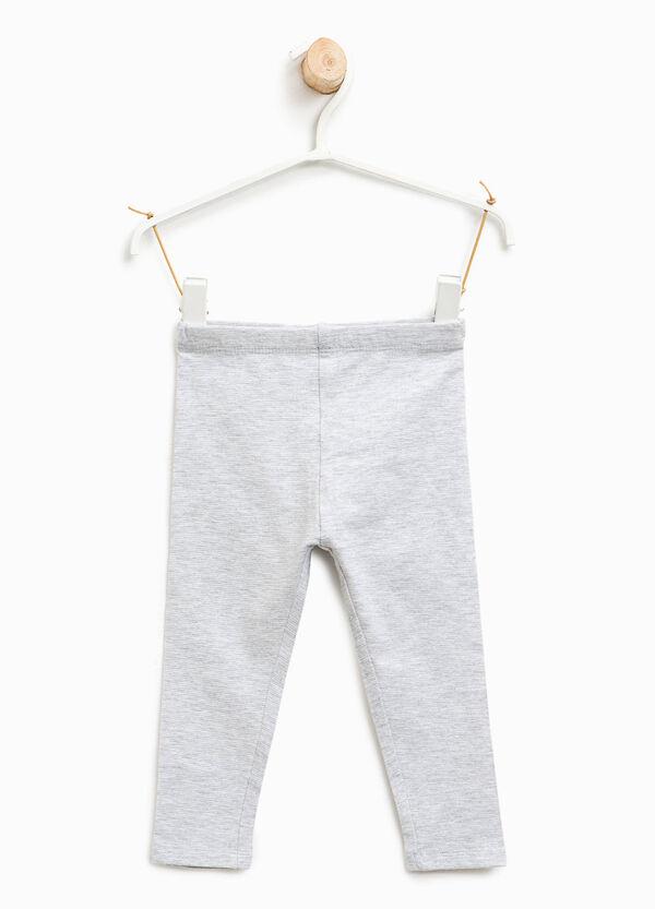 Leggings stretch in cotone | OVS