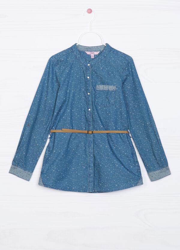 Camicia di jeans con stampa | OVS
