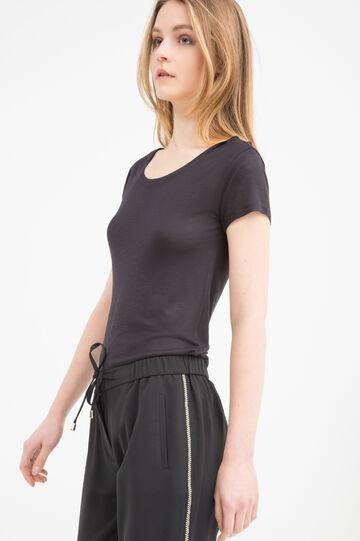 Viscose blend T-shirt