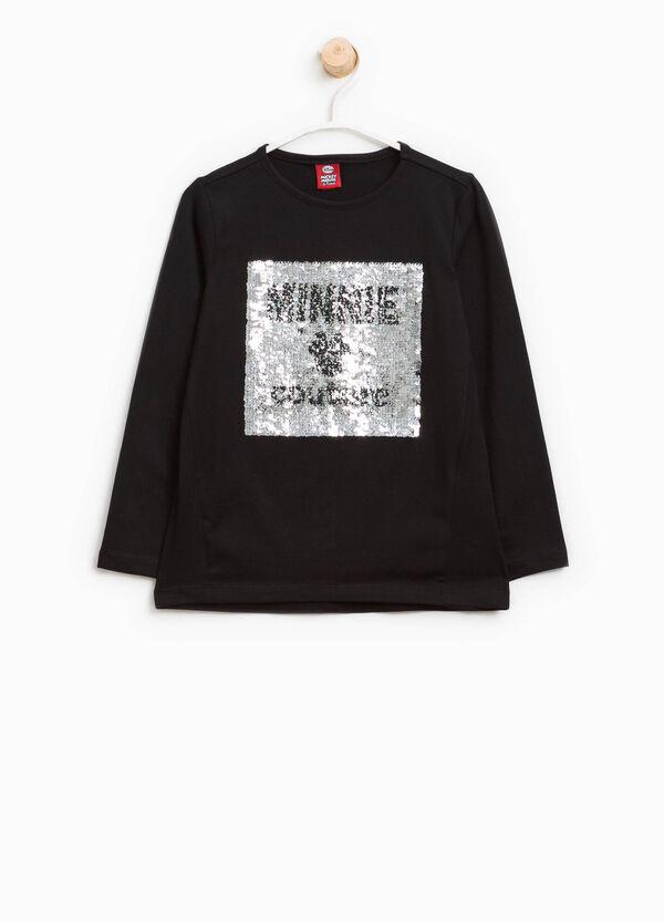 T-shirt con paillettes Minnie | OVS