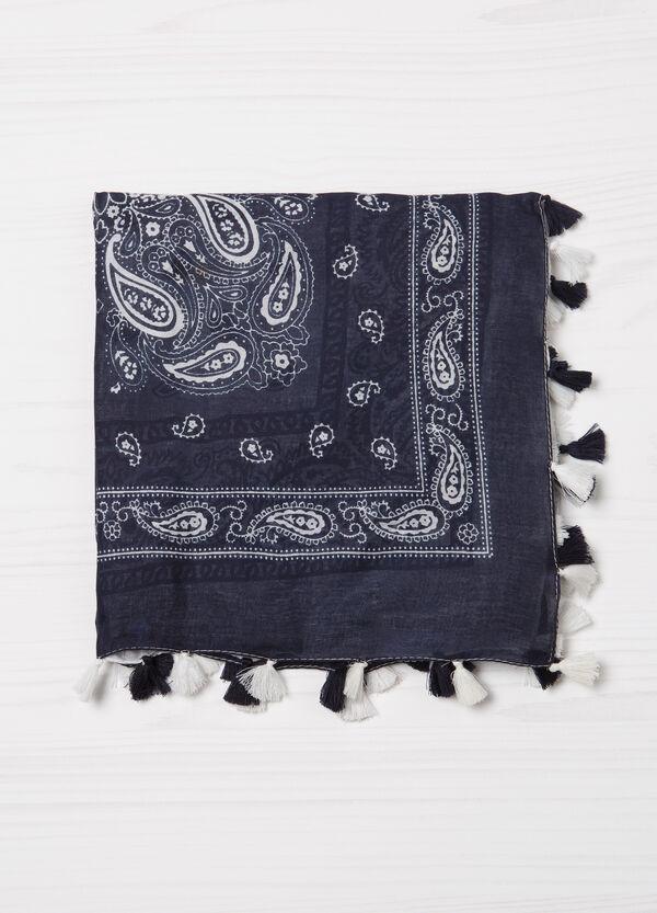 Sciarpa in cotone fantasia paisley | OVS