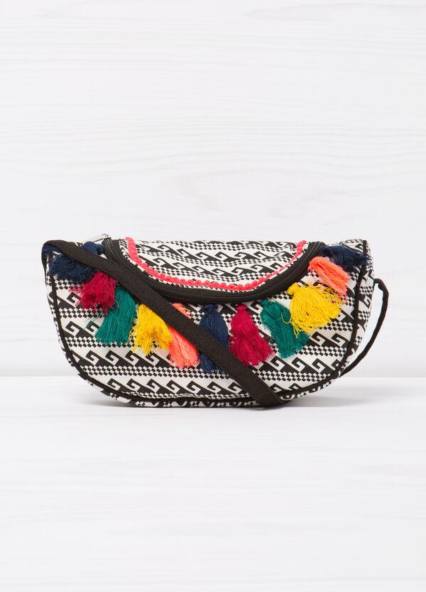 Patterned tassel shoulder bag | OVS