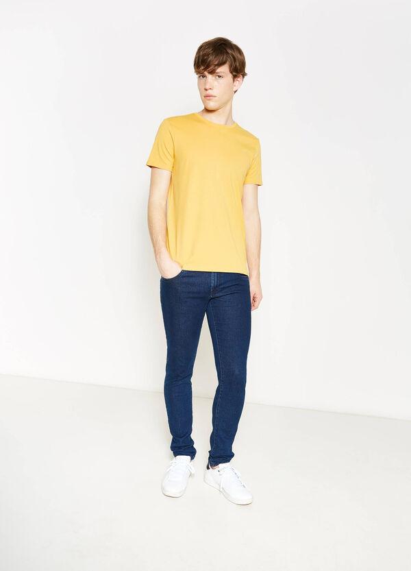 T-shirt in puro cotone tinta unita | OVS