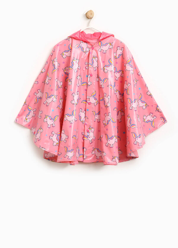 Raincoat with unicorn pattern | OVS