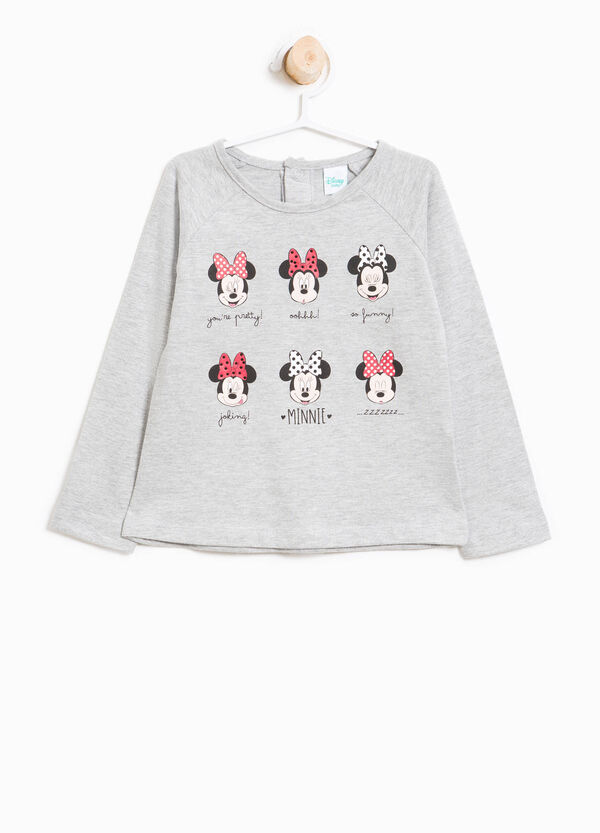T-shirt in cotone stampa Minnie | OVS
