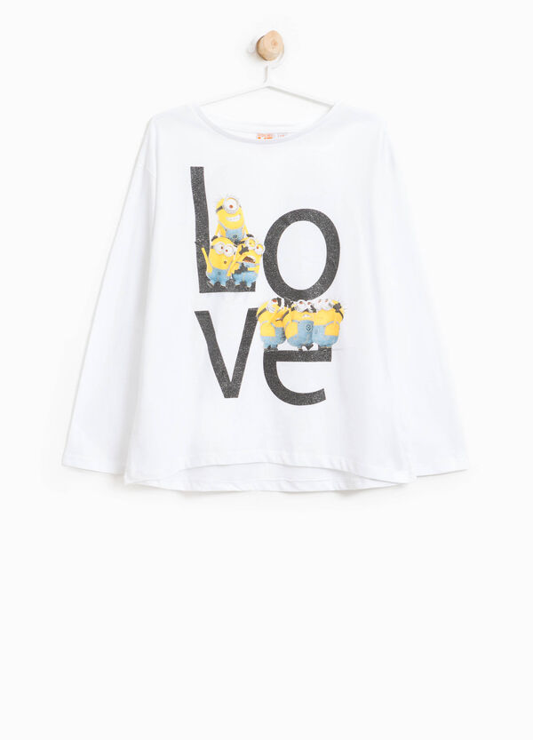 T-shirt in cotone stampa Minions | OVS