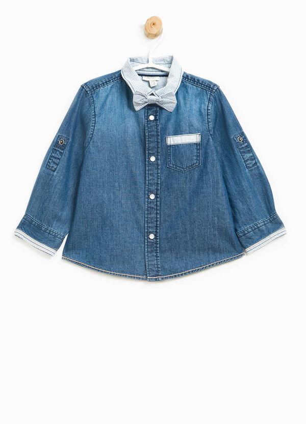 Camicia di jeans con papillon | OVS