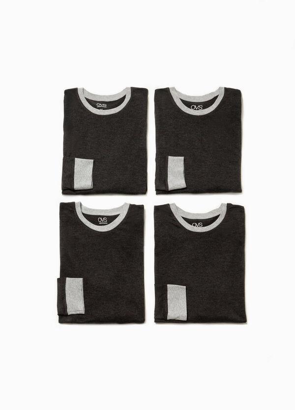 Set quattro maglie pigiama in cotone | OVS