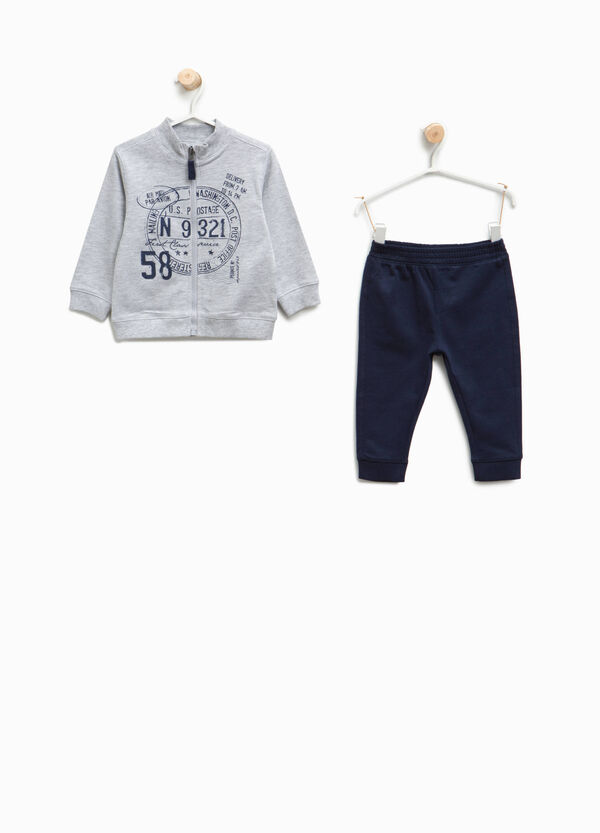 100% cotton printed tracksuit | OVS