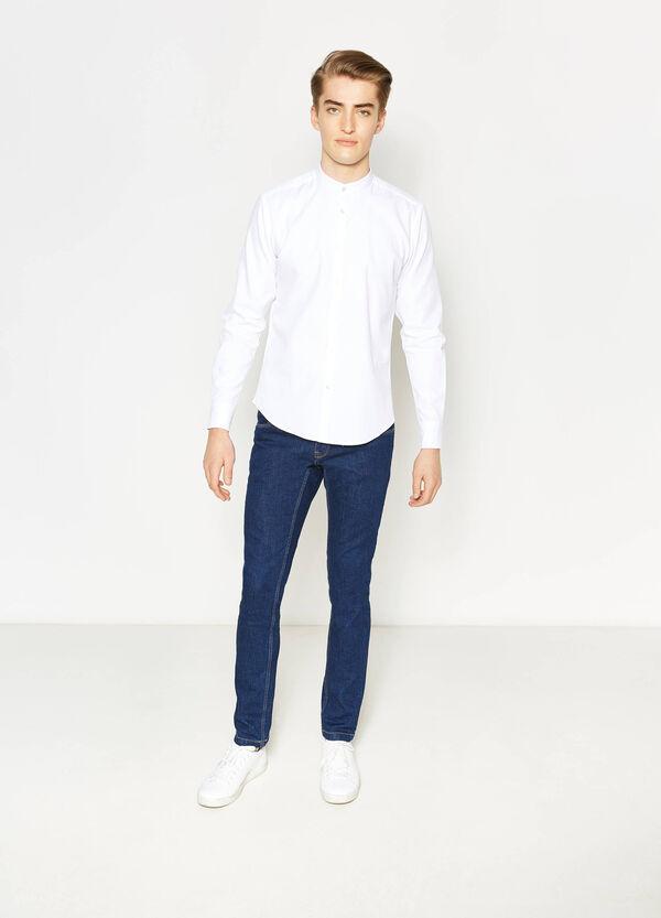 Camicia casual cotone colletto coreana | OVS