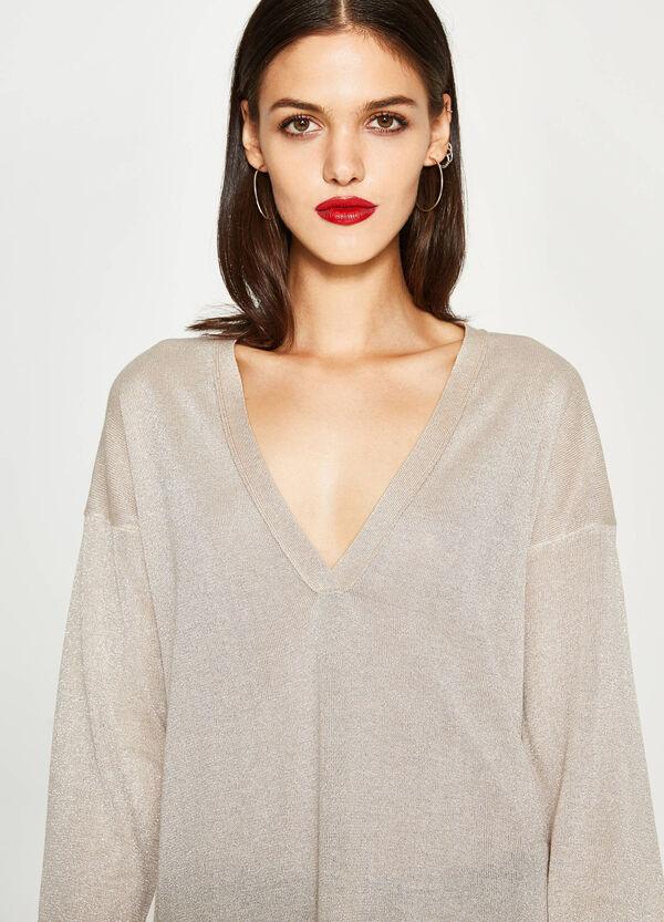V-neck viscose pullover   OVS