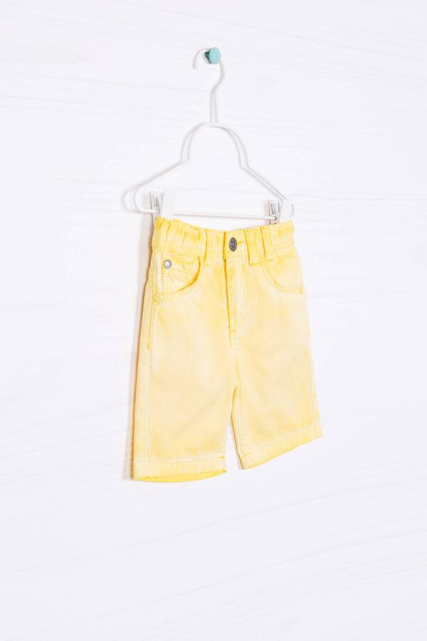 Shorts puro cotone maltinto   OVS