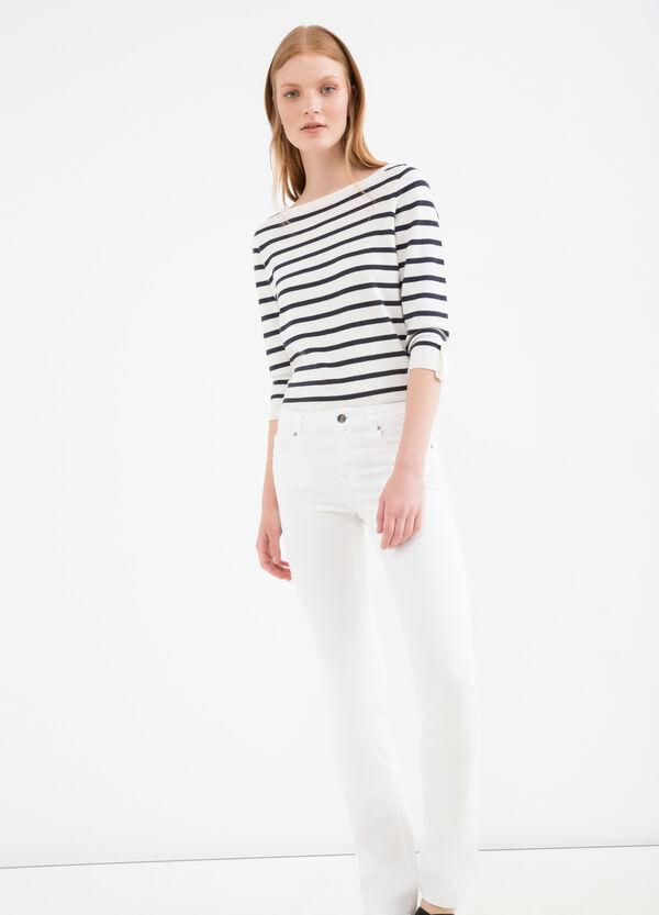 Stretch boot cut jeans | OVS