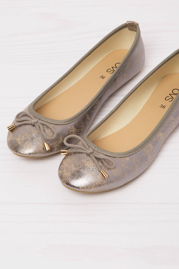 Ballerina flats with rope bow | OVS