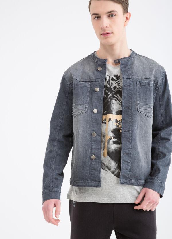 Giubbotto di jeans effetto used | OVS