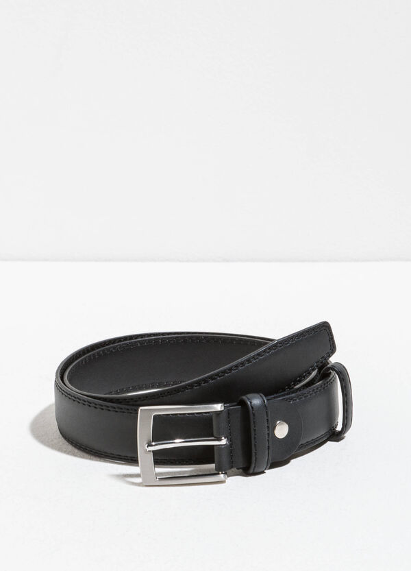 Smooth belt with polished buckle | OVS