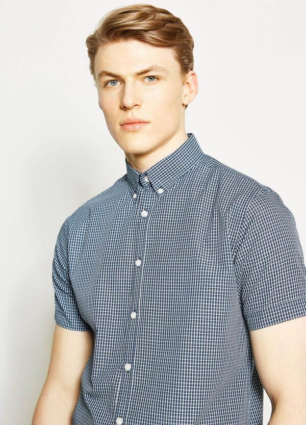 Camicia casual regular fit motivo tartan | OVS