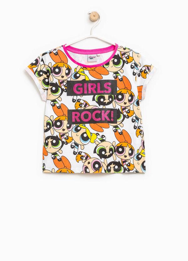 Camiseta con cuello redondo de Las Supernenas | OVS