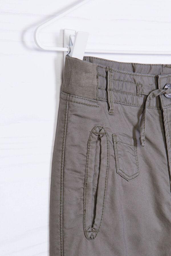 Pantaloni puro cotone coulisse | OVS