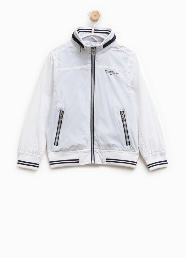 Jacket with high neck and hood | OVS