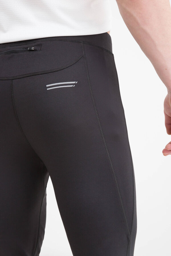 Stretch cotton gym pants with zip pocket | OVS