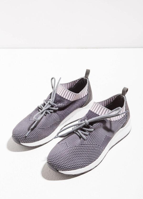 Sneakers con tomaia tricot | OVS