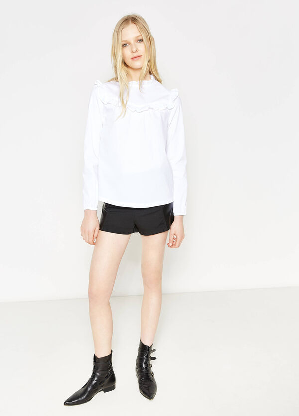 Shorts stretch a vita alta | OVS