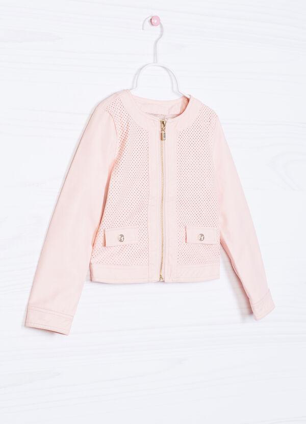 Solid colour 100% viscose jacket | OVS