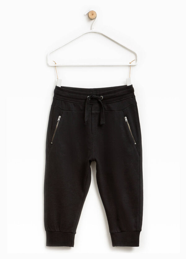 Trousers with zip and drawstring | OVS