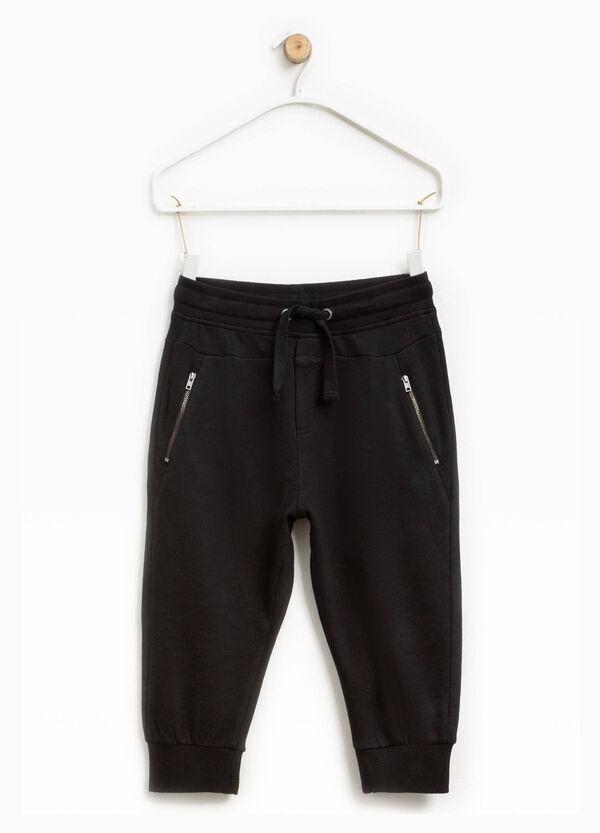 Pantaloni con zip e coulisse | OVS