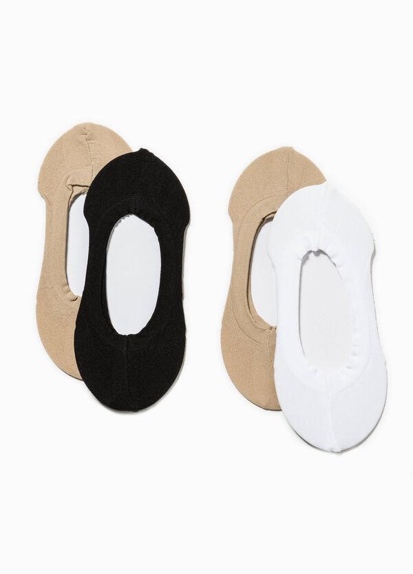 Set quattro paia di calze salvapiedi | OVS