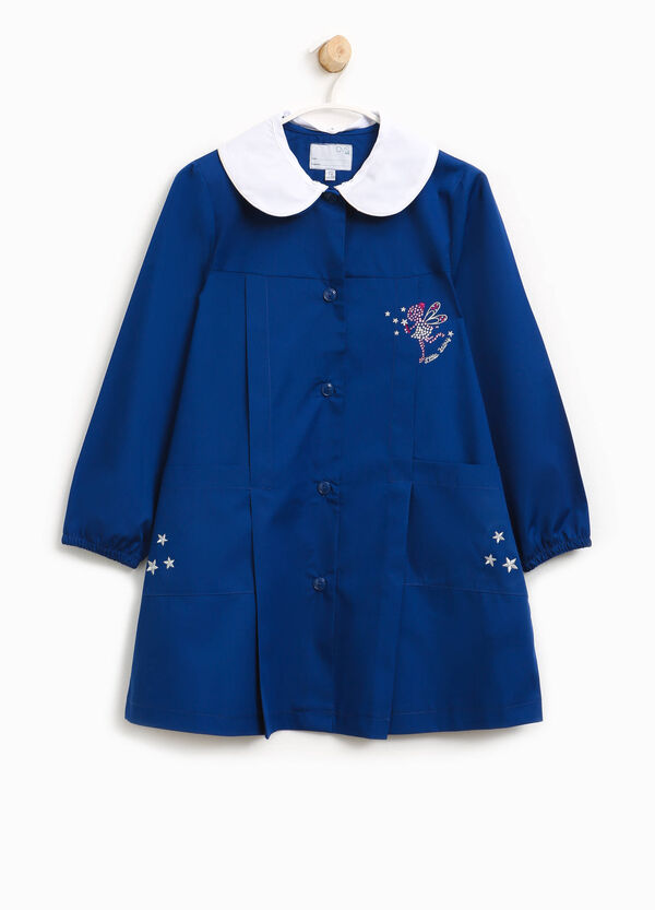 Cotton smock with fairy and embroidery | OVS