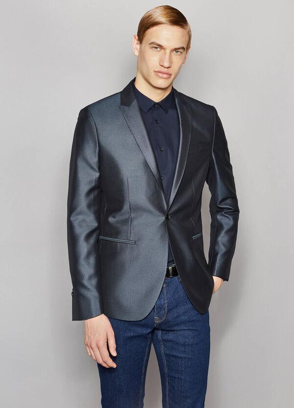 Giacca elegante slim fit lucida | OVS