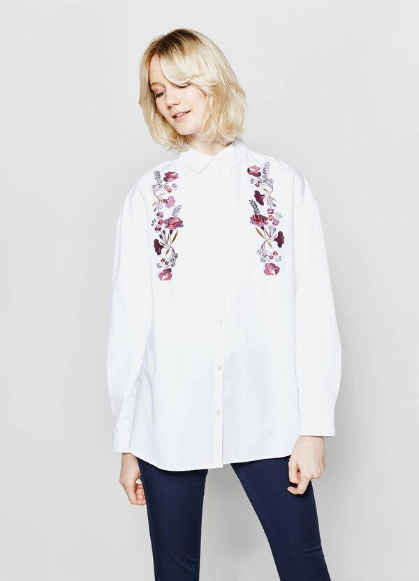 Camicia lunga in puro cotone | OVS