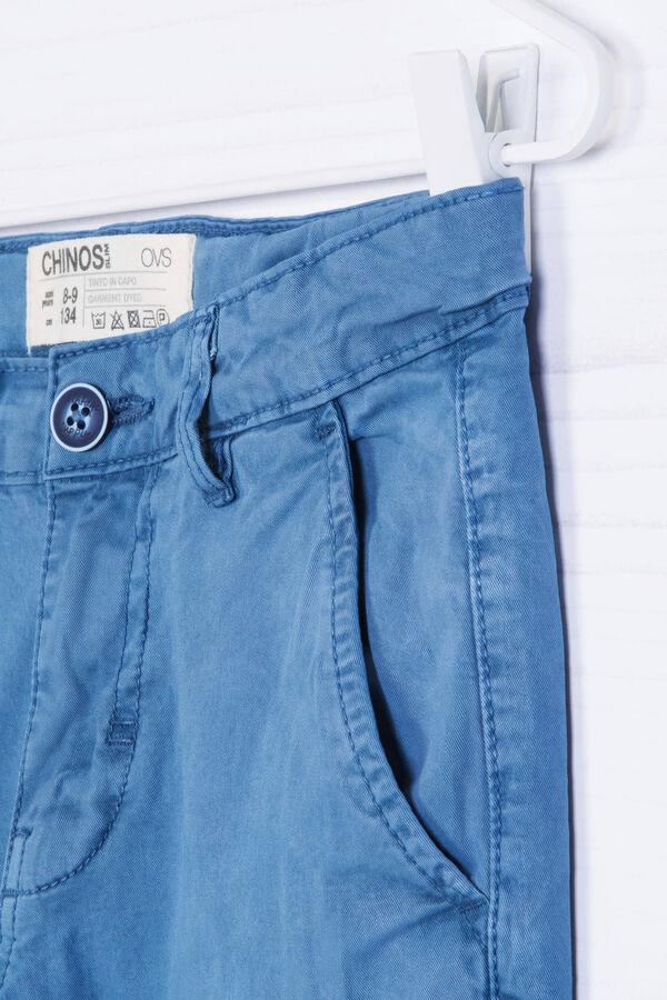 Pantaloni chino in cotone stretch | OVS