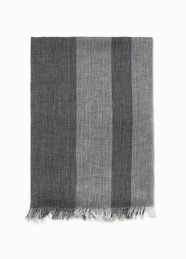 100% cotton striped scarf | OVS