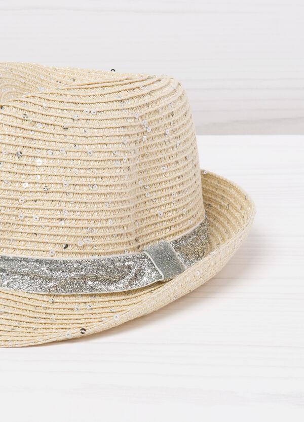Cappello con glitter a paillettes | OVS