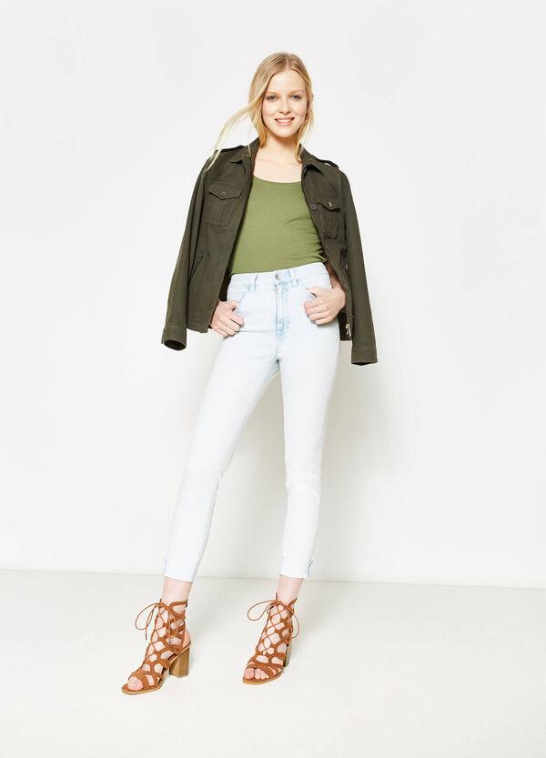 Jeans skinny fit a vita alta | OVS