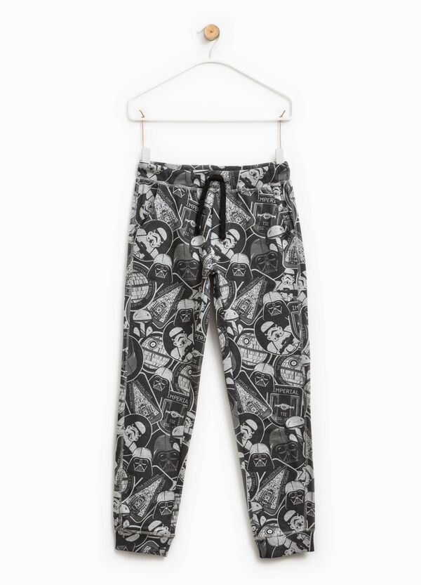 Star Wars patterned cotton trousers | OVS