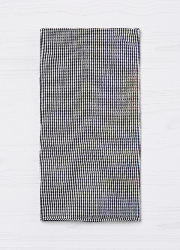 Sciarpa a quadri misto cotone G&H | OVS