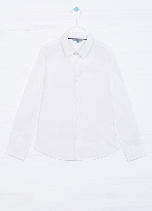 Camicia cotone stretch   OVS