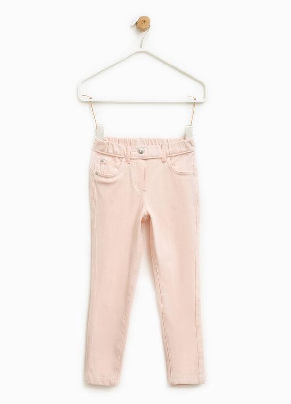Pantaloni in cotone stretch | OVS