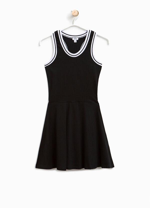 Sleeveless dress in cotton   OVS