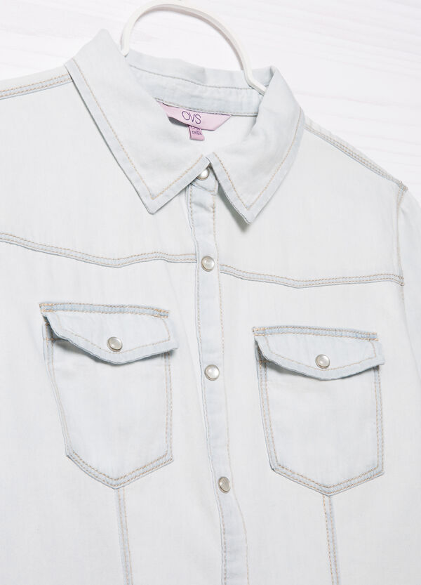 Camicia di jeans tasche applicate | OVS