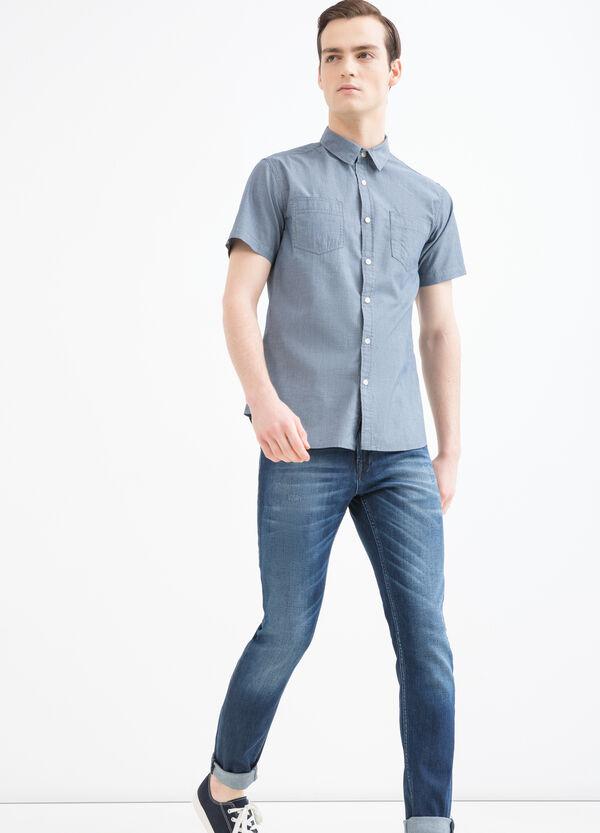 Camicia cotone con fantasia G&H   OVS