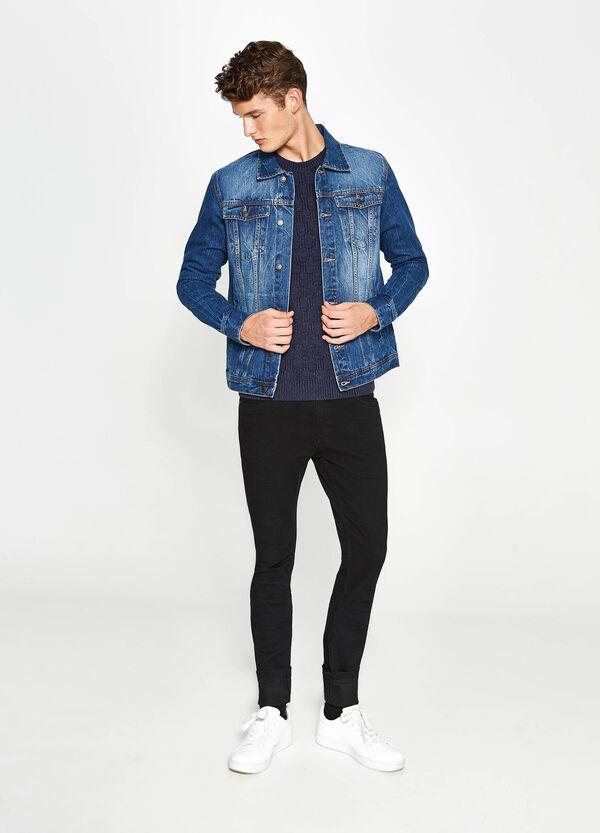 Giubbino di jeans delavato | OVS