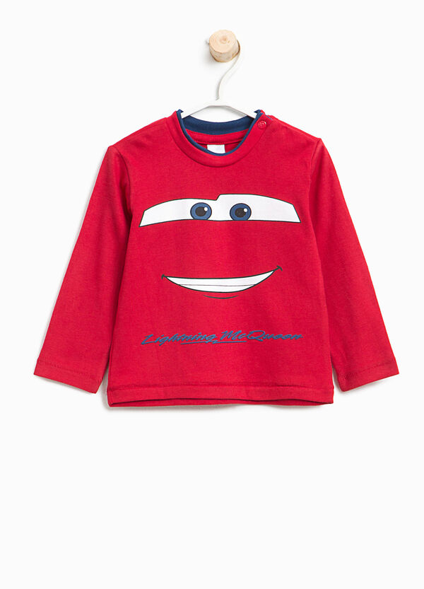 T-shirt in cotone con stampa Cars | OVS