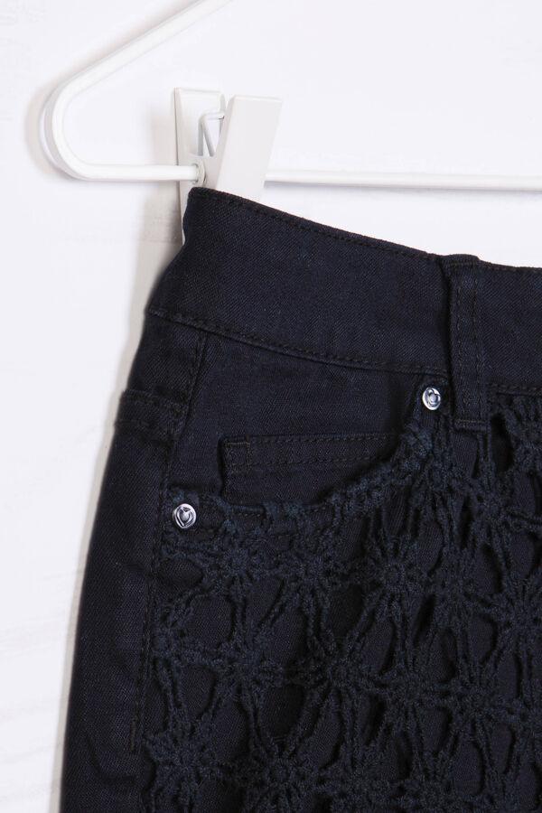 Solid colour 100% cotton shorts   OVS